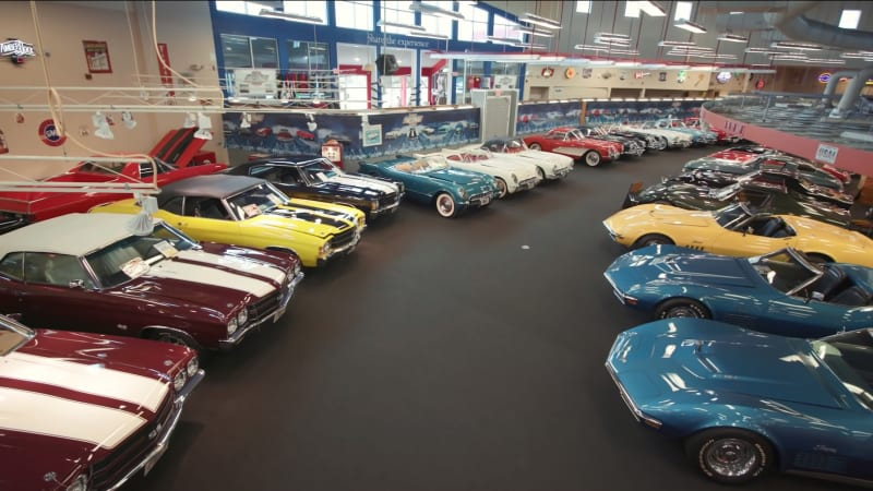 One of the world's largest muscle car museums is auctioning off its cars