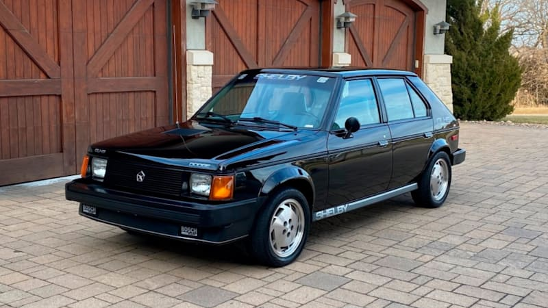 Here's your chance to buy Carroll Shelby's personal Dodge Omni GLHS