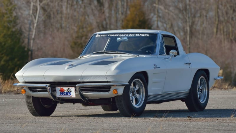 Mickey Thompson's daily driver '63 Corvette Z06 could sell for up to $500,000