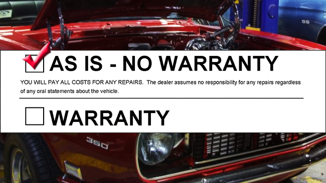 Warranty / Guarantee