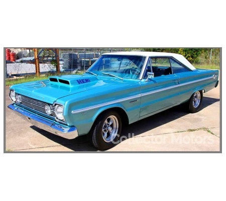 1966 Plymouth Belvedere Ii Teal